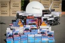 228 دستگاه لوازم خانگی قاچاق در فردیس کشف شد