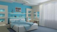 چند پیشنهاد ساده برای رنگ کردن اتاق خواب