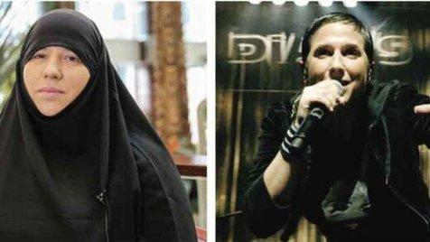 خواننده زن فرانسوی مسلمان شد