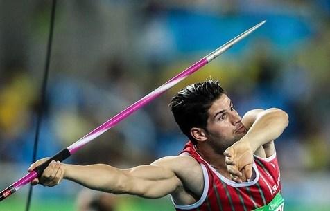 مدال طلا و نقره کاروان ایران در پرتاب نیزه