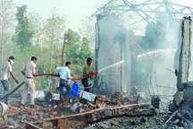 27 کشته در انفجار موادمحترقه در هند