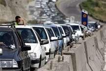 504 هزار دستگاه خودرو از جاده های همدان تردد کردند