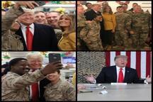 ترامپ: برنامه ای برای خروج نظامیان آمریکا از عراق ندارم