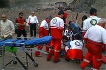 تصادف خودرو با کوه در البرز پنج مصدوم داشت