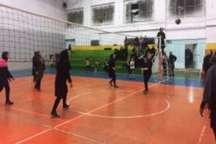 پایان رقابت های والیبال رمضانی بانوان تربت حیدریه