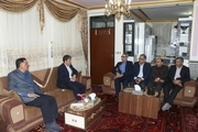 عیادت استاندار آذربایجان غربی از جانباز 70 درصد میاندوآبی