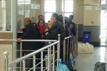 ورود مسافر از گمرک باشماق مریوان به کشور20 درصد افزایش یافت