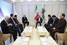واعظی در دیدار وزیر اقتصاد جمهوری آذربایجان: تهران هیچگونه محدودیتی برای توسعه روابط با باکو قایل نیست