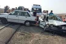 دو کشته و 9 مجروح در حوادث رانندگی قم