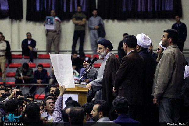 ستاد مردمی رئیسی در شیراز آغاز بهکار کرد
