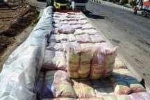 توقیف 2 خودرو حامل برنج قاچاق در کوار