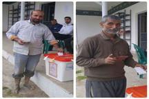 جشن تکلیف سیاسی کشاورزان مازندران با طعم کاشت برنج و برداشت کلزا