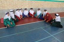 مسابقات مادربزرگ ها در خوسف برگزار شد