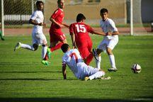 تیم فوتبال شهید قندی فولاد آلیاژی را شکست داد