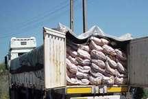 محموله 11 تنی برنج قاچاق در ایلام توقیف شد