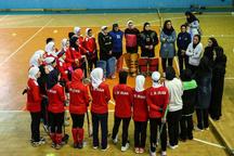 پایان اردوی تیم ملی هاکی بانوان در قزوین