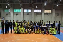 رقابتهای هندبال قهرمانی جوانان گیلان پایان یافت