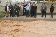 رئیس مجلس شورای اسلامی از رودخانه قمرود قم دیدن کرد