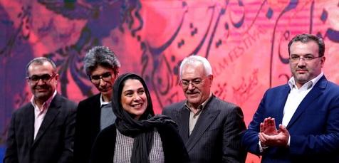 مراسم اهدای جوایز بخش تجلی اراده ملی جشنواره فیلم فجر+ تصاویر