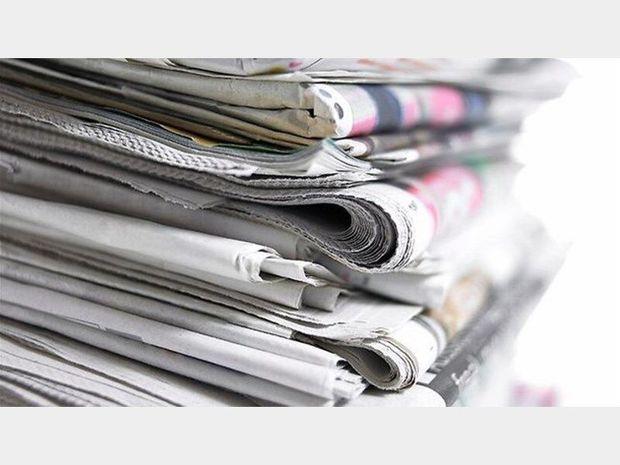 تیترهای صفحه اول نشریات هرمزگان در ۱۲ آبان ماه