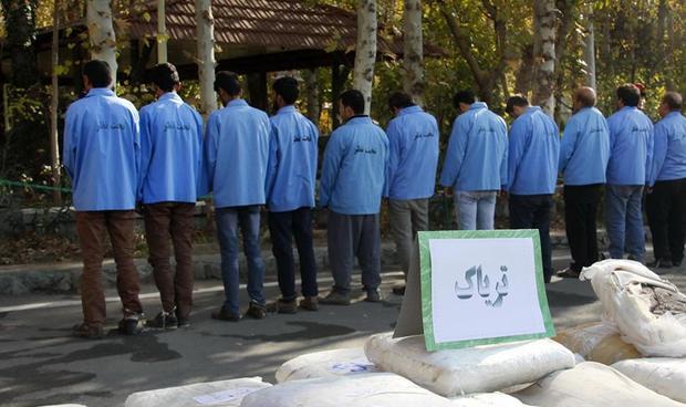 محکومان مواد مخدر به اردوگاههای سخت اعزام می شوند