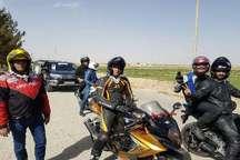 110 موتورسوار و اتومبیلران، ورزشگاه نقش جهان تا گلستان شهدای اصفهان را پیمودند