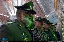 تجدید میثاق فرماندهان و کارکنان ارتش با آرمانهای حضرت امام(س)