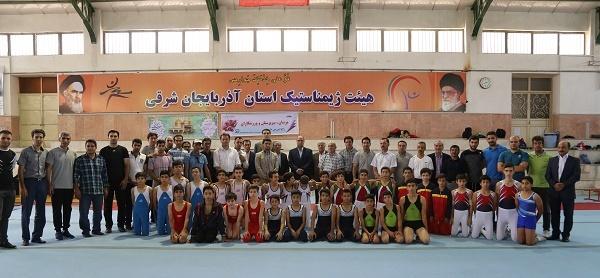 برگزاری اولین دوره مسابقات ژیمناستیک فرزندان کارگران کشور در تبریز