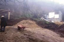 ادامه بارندگی خسارت به منازل گلیداغ را افزایش می دهد