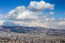 هوای پایتخت با شاخص 71 سالم است