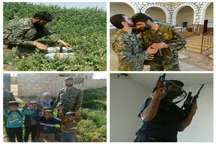 ساک شهیدی که در محل شهادتش باز شد