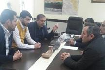 4 قلم شئی باستانی به میراث فرهنگی پارس آباد اهدا شد