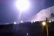 فیلم لحظه شلیک موشک های سپاه علیه مواضع تروریست ها در سوریه