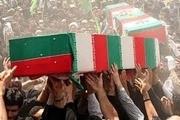 تشییع پیکر مطهر2 شهید گمنام دفاع مقدس در بویین زهرا