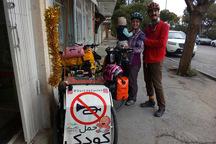 یک سال زندگی با رکاب زنی