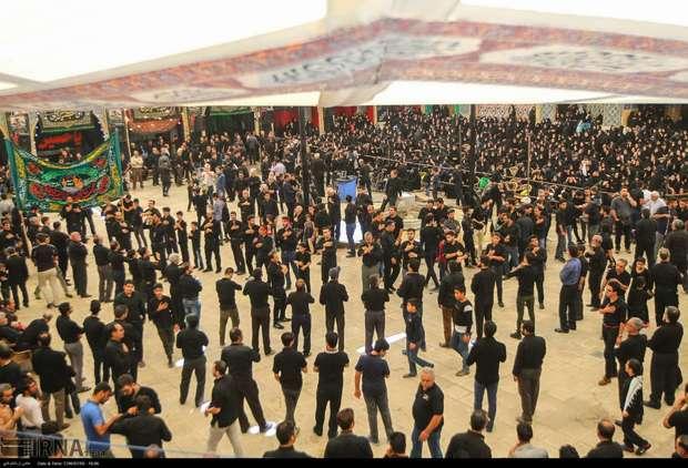 اصفهان در عاشورای حسینی به سوگ نشست
