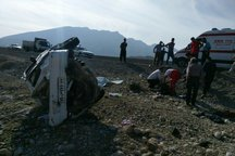 سرعت بالای پراید در جاده مهران منجر به مرگ یک نفر شد