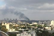 وقوع انفجارهای مهیب و آتش سوزی در یکی از پایگاه های ارتش اسرائیل در تل آویو+عکس