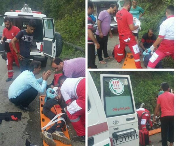 تصادف در محور آستارا-اردبیل، سه مصدوم بر جا گذاشت