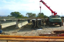 ساخت 4 دهنه پل در روستای بوسنگان باشت آغاز شد