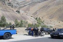 ۶ مصدوم در تصادف جاده کرج - چالوس