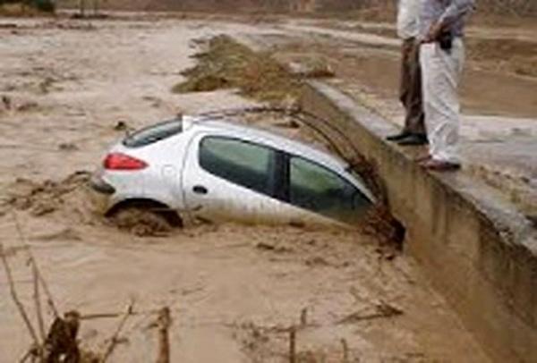 ۶ کشته و مصدوم در حادثه غرق شدن خودرو در محور قدیم لالی خوزستان + اسامی مصدومان