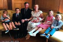 عکس/ فردی که رویای نخست وزیری انگلیس را دارد