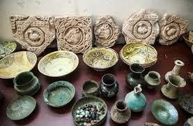 کشف اشیا عتیقه در شهرستان کلات