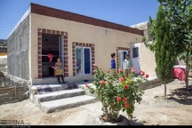 794 واحد مسکونی برای مددجویان مناطق زلزله زده ساخته شد