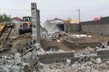 پنج سازه غیرمجاز در باغ های مرکبات دزفول تخریب شد