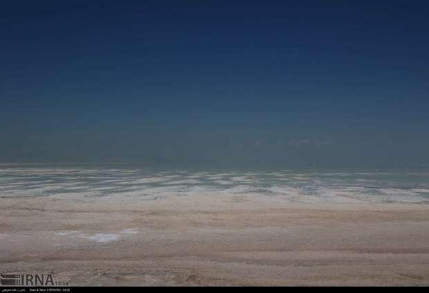 افزایش  7 سانتیمتری تراز دریاچه ارومیه