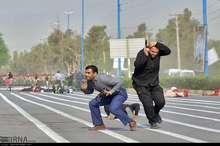 مجموعه تصاویر از حمله تروریستی در اهواز