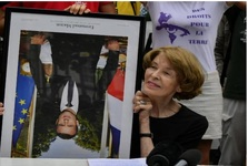 پایین کشیدن عکس رئیس جمهور فرانسه آزاد شد