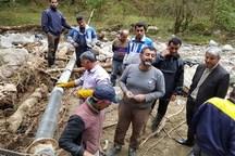 سیل 564 میلیارد ریال به تاسیسات آب مازندران خسارت زد